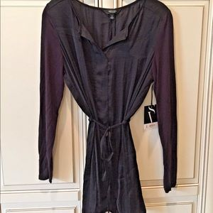 BLACK DRESS/COVER UP BY SIMPLY VERA WANG